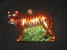 Tiger holiday ornament, Zoo Atlanta Trading Company Gift Shop