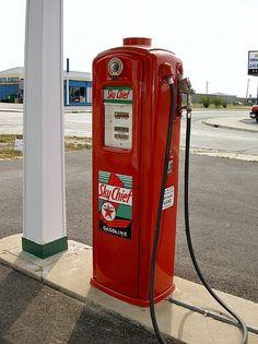 Route 66 Gas Station, Illinois