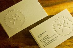 35 Awesome Letterpress Business Cards - SloDive
