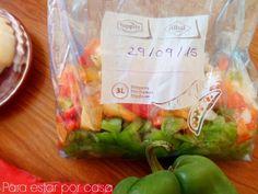 Congelar verduras para sofrito | Cocina