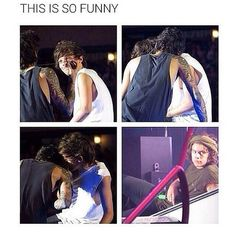 cute, funny, harry styles, jealousy, larry stylinson, louis tomlinson, loverly, one direction