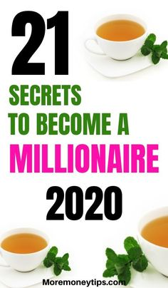 How to Become a Millionaire: 21 Golden Rules - More Money Tips - These 21 secrets will pave your path to becoming a millionaire. Don't make mistake Moremoneyt - Money Tips, Money Saving Tips, Science Of Getting Rich, Budget Planer, Become A Millionaire, How To Become Rich, Finance Tips, Money Management, Way To Make Money
