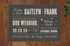 Your top 10 wedding invitations from Minted.com | Offbeat Bride