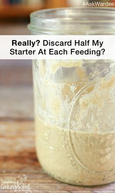 When creating a sourdough starter from scratch, my advice is to feed twice daily. each time, disca Dough Starter Recipe, Sourdough Starter Discard Recipe, Yeast Starter, Sour Dough Starter, Starter Recipes, Whole Wheat Sourdough, Sourdough Pancakes, Sourdough Recipes, Bread Recipes