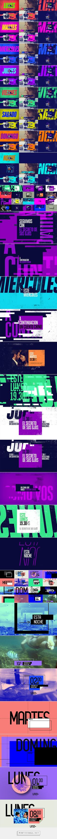 Type / Photography / Color /// UN3 Branding on Behance... - a grouped images picture - Pin Them All
