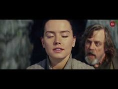"""Rey and Luke Skywalker Scene """"The Force"""" HD"""