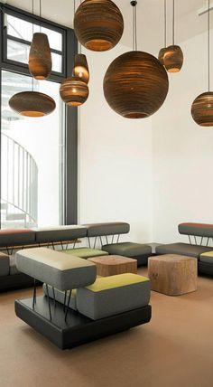 Graypants Lampen im MARA Hotel Illmenau