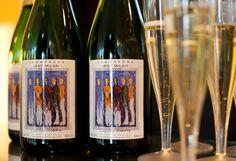 #Champagne #CuveeNicoWiderberg #Nico #Widerberg uke og kunstnertreff i #Galleri #Fineart Champagne, Wine, Bottle, Flask, Jars