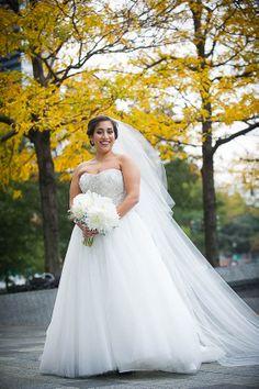 Danielle Caprese wedding gown