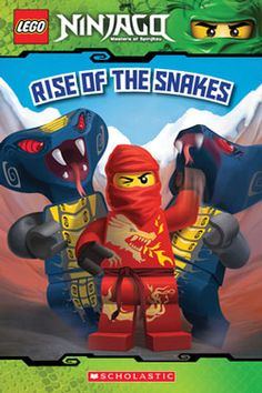 """My 1st graders love this book! """"Lego Ninjago: Rise of the Snakes"""""""