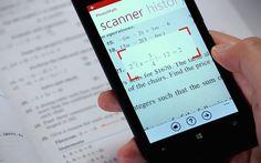 PhotoMath es la primera aplicación móvil que utiliza la cámara de tu dispositivo como una calculadora.  #app