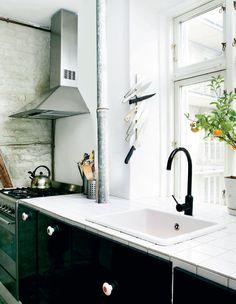Kitchen of a home in Copenhagen