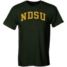 North Dakota State Bison Arch T-Shirt – Green - $9.99