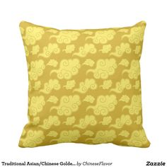 Traditional Asian/Chinese Golden Cloud Pattern