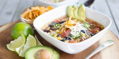 Spicy Black Bean Soup Black Bean Soup, Black Beans, Vegan Iron, Fish Recipes, Healthy Recipes, Tortilla Soup, Stuffed Jalapeno Peppers, Cheeseburger Chowder, Spicy