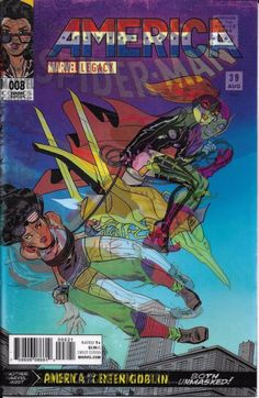 Marvel America comic issue 8 Limited lenticular variant