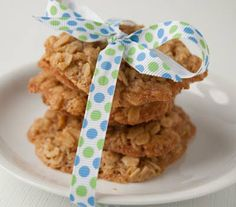 Hippo Flambé: Oatmeal Lace Cookies: Gluten Free