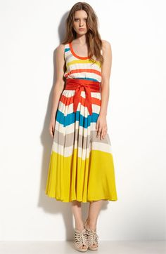 MARC BY MARC JACOBS 'Simone' Stripe Silk Dress #Nordstrom