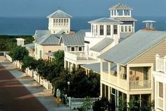 Seaside Beach, FL is my favorite vacation spot! I cannot wait to go back!! LOVE this place!