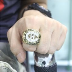 Custom 1986 Montreal Canadiens Stanley Cup Championship Ring