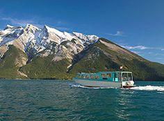 Lake Minnewanka Banff Lake Cruise   Brewster Travel Canada