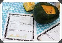 We started the week off with homemade pumpkin bread and labeling..the page is from Lyndsey's (A Year of Many Firsts') pumpkin pack {here}Need the parts of a pumpkin labels? Get them {HERE}The lif