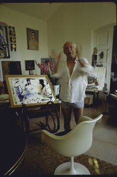 """Pablo Picasso - QUOTES """"Whenever I wanted to say something, I said it the way I believed I should. Different themes inevitably require different methods of expression. This does not imply either evolution or progress; it is a matter of following the idea one wants to express and the way in which one wants to express it."""" —Pablo Picasso"""