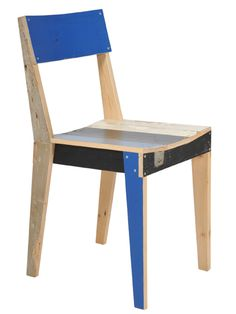 """Piet Hein Eeek - This Dutch designer and this chair are the real deal original source of all those """"Barn Wood Designs"""" you see out there. He has been doing this way before it got """"trendy"""""""