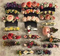 toka, çiçekli toka, gelin, düğün, saç, taraklı toka, saç aksesuarı, gelin tacı, gelin tokası, topuk tokası