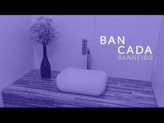 (5) Bancada Banheiro :: como fazer uma bancada em madeira - YouTube