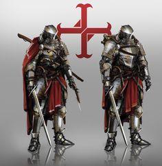 Knights of the Order concept, Johnson Ting on ArtStation at http://www.artstation.com/artwork/knights-of-the-order-concept