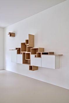 Funky Furniture, Home Decor Furniture, Unique Furniture, Furniture Design, Home Office Design, Home Interior Design, House Design, Accent Wall Designs, Wardrobe Door Designs