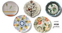 Love eclectic dishes // anthropologie