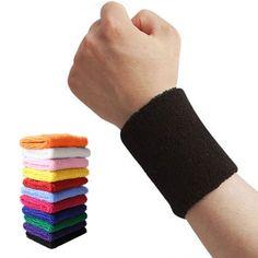 Sport Bracelet Sweat Yoga Fitness Brassards De Tennis Bracelet Sport Sécurité Support de Poignet 1 PCS