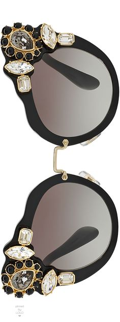 e2d2670d069b Miu Miu Gradient Embellished Dramatic Cat-Eye Sunglasses https   twitter.com