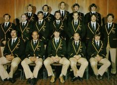 Springbok team 1976 vs All Blacks Pierre Edwards, Rugby Funny, South African Rugby, Back Row, All Blacks, Rugby Players, The Old Days, Pumas