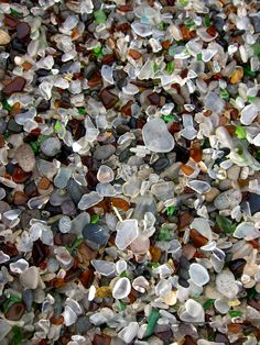 glass instead of sand