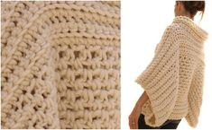 Pop Over Crochet Poncho - the Pattern & Tutorial - STYLESIDEA