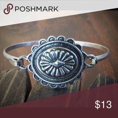 Silver Concho Bracelet Brand new silver Concho bracelet. Boho, gypsy, hippie, southwest, western, cowgirl style. Jewelry Bracelets