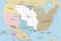 European settlers and homesteaders had been moving west from the Atlantic coasts since first arriving. But shortly after independence, that expansion grew from piecemeal settlements to national policy. For example, when American agents negotiate the Louisiana Purchase , they initially sought only New Orleans, but the cash-strapped Bonaparte sold half a billion acres to fund his expanding wars in Europe.
