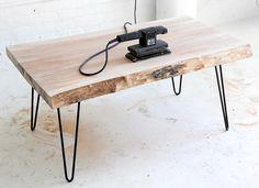 MY DIY | Wood Slab Coffee table | I SPY DIY