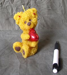 Medvedík - maľovaný