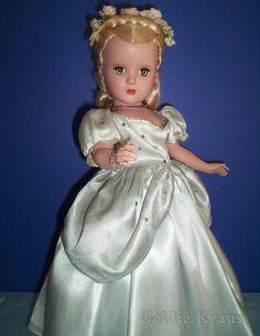 "Madame Alexander 18"" Cinderella with Glass Slippers - All Original"