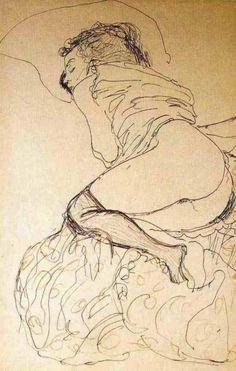 Gustav Klimt. Sans titre