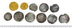 Medieval coin hoard, Obverse