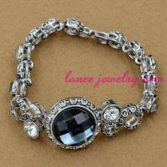Sweet heart model decoration alloy bracelet