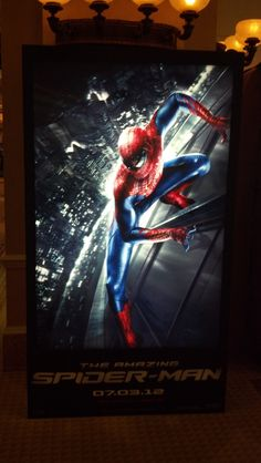 Brand new poster for The Amazing Spider-Man
