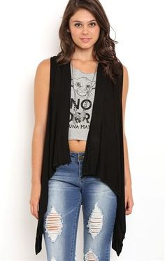 Deb Shops Sleeveless Lightweight Cozy with Racerback $14.62