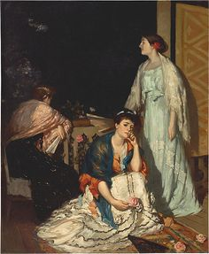 Australian Artist in Paris - Rupert Bunny (1864–1947) ~ Blog of an Art Admirer