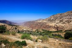 The 19th century Dana Village, which is situated on the edge of a large natural gorge called Wadi Dana and enjoys spectacular view over Wadi Araba.